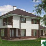 проект двухъэтажного дома 933 вид 3 2