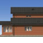 Проект дома из бревна SD-529 -4