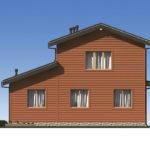 Проект дома из бревна SD-529 -5