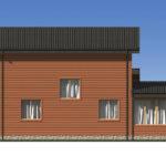 Проект дома из бревна SD-529 -6