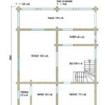 проект дома из бревна SDn-108 2