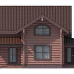 проект дома из бревна SDn-114 4
