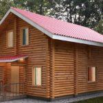 проект дома из бревна SDn-115 4