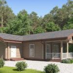 проект дома из бревна SDn-156 1
