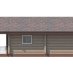 проект дома из бревна SDn-156 3