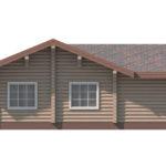 проект дома из бревна SDn-156 5