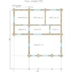 проект дома из бревна SDn-156 7