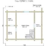 проект дома из бревна SDn-248 2