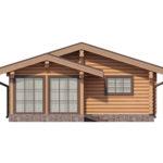 проект дома из бревна SDn-358 4