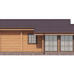 проект дома из бревна SDn-358 5