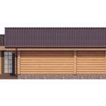 проект дома из бревна SDn-358 6