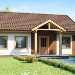 проект дома из бревна SDn-392 5