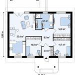 проект дома из бревна SDn-392 7