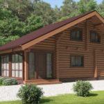 проект дома из бревна SDn-426 1