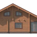проект дома из бревна SDn-426 3