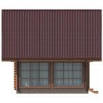 проект дома из бревна SDn-426 5