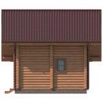 проект дома из бревна SDn-426 6
