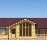 проект дома из бревна SDn-536 2