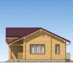 проект дома из бревна SDn-536 3