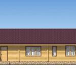проект дома из бревна SDn-536 4