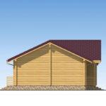 проект дома из бревна SDn-536 5