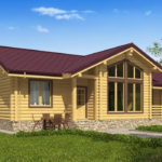 проект дома из бревна SDn-536 6