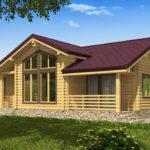 проект дома из бревна SDn-536 7