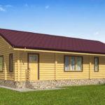 проект дома из бревна SDn-536 9