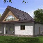 проект дома из бревна SDn-538 10