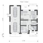 проект дома из бревна SDn-538 2