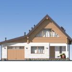 проект дома из бревна SDn-538 3