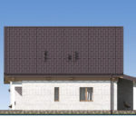 проект дома из бревна SDn-538 4