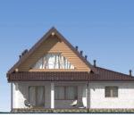 проект дома из бревна SDn-538 5