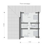 проект дома из бревна SDn-538 7