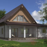 проект дома из бревна SDn-538 9