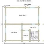 проект дома из бревна SDn-846 3
