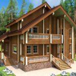 проект дома из бревна SDn-921 4
