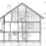 проект дома из бревна SDn-921 6