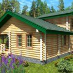 проект дома из бревна SDn-926 1