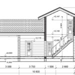 проект дома из бревна SDn-926 3
