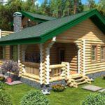 проект дома из бревна SDn-926 5
