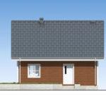 проект дома из бруса SDn-501 2