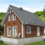 проект дома из бруса SDn-501 7