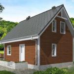 проект дома из бруса SDn-501 8