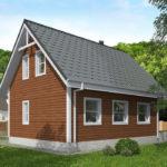 проект дома из бруса SDn-501 9