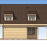 проект дома из бруса SDn-520 3