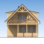 проект дома из бруса SDn-520 4