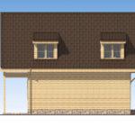 проект дома из бруса SDn-520 5