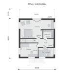 проект дома из бруса SDn-520 6