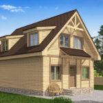 проект дома из бруса SDn-520 8
